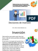 DECISIONES DE INVERSIÓN