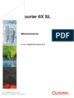 C6X SL Maintenance_ES
