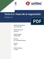 6.1 8 faces de la negociacion tarea LEAV