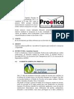PROETICA - ALTERNATIVAS DE SOLUCION