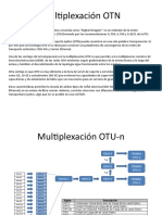 2.-Esquema multiplexación OTN