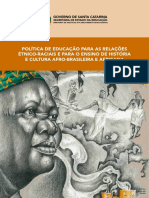 Caderno - Política de Educação para as Relações Étinico-Raciais e para o Ensino de História e Cultura Afro-Brasileira e Africana - NEAD (1)