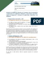 ISC- TRIBUTACION II - CUENCA GALVEZ