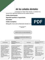 Defectos de los colados dentales (1)