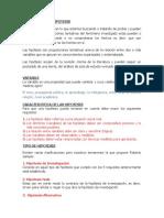 FORMULACON DE HIPOTESIS