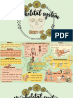 skeletal system concept map