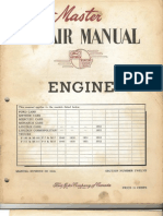 Ford Engines 1949-1952 Master Repair Manual Engine