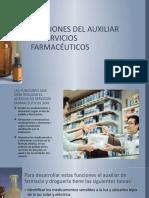 FUNCIONES DEL AUXILIAR EN SERVICIOS FARMACÉUTICOS.pptx
