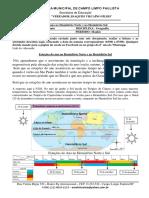 6° ano geografia - 03-08 a 07 -08 - Prof André - Estações do ano no Hemisfério Norte e no Hemisfério Sul