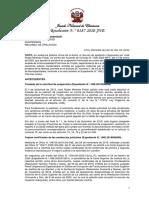 RESOLUCION N° 00187-2020-JNE