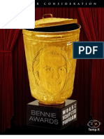 Bennies Nominees -- Worst Scripted Program