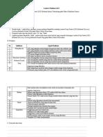 Rubrik penilaian analisis kebutuhan bahan ajar