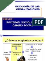 SOCIOLOGÍA Y SOC CONOCIMIENTO