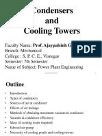 slidesharecondenserandcoolingtowerpowerplantengineering-170828150048
