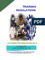 TR - Automotive Servicing NC II-converted