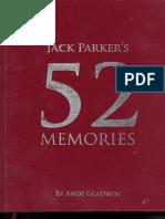52 Memories by Jack Parker