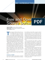 Free and Open Source