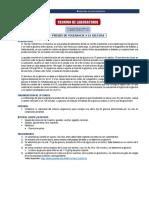 PRACTICA 10. Tolerancia oral a glucosa