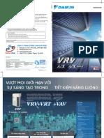 Catalogue Daikin VRV A/X, A/X Max (2020) - Tiếng VIệt