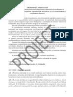 Proiect OUG de modificare a Legii Educatiei