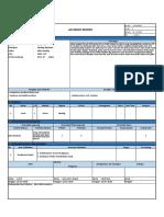 form Accident Report DT-18 dan 26