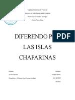 Diferendo por las Islas Chafarinas