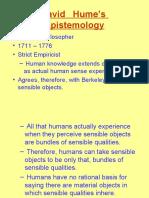 Hume's Epistemology.ppt