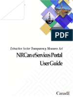 ESTMA - NRCan eServices Portal User Guide