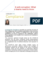 COVID-19 & anti-corruption - What compliance teams need to know.docx