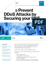 How to Prevent DDoS Attacks by Securing your DNS