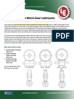 118 Worm Gear Lubes