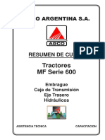 Tractores Serie 600