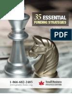 35 Essential Funding Strategies