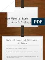 Once Upon a Time - Gabriel Okara