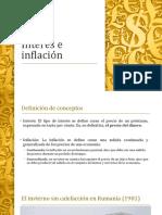 Interés e inflación