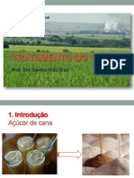 USP_ESALQ LAN1458 Açúcar e Álcool TRATAMENTO DO CALDO. Prof. Dra Sandra H da Cruz