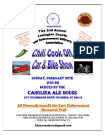 Lexington Co. Law Enforcement Chili Cook Off
