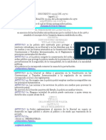 CODIGO DE POLICIA DECRETO 1355 DE 1970