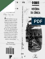 ALFONSO-GOLDFARB, A. O Que é a História Da Ciência