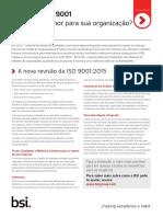 Briefing Executivo ISO 9001-2015