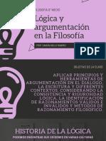 Lógica y argumentación en la filosofía (1)