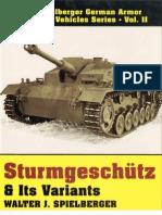 Sturngeschutz Its Variants