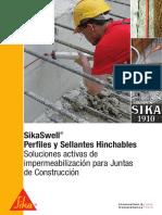Brochure SikaSwell - Perfiles y Sellantes Hinchables