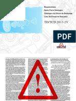 Manual de partes TCD 2013