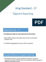 AS17 Segment Reporting