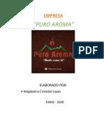 ANALISIS DEL ENTORNO PURO AROMA MAGDALENA
