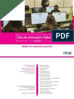 Guia de orientacion modulos de competencias genericas Saber-TyT-2020-1