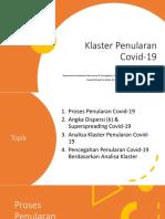 Klaster Penularan Covid-19 08072020