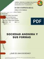 DERECHO EMPRESARIAL (SOCIEDAD ANONIMA Y SUS FORMAS)