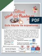 Guia Expositores PAMBAFEST 2020